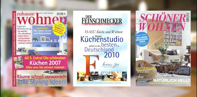 Mein Schönes Zuhause Zeitschrift hasu küche und wohnen